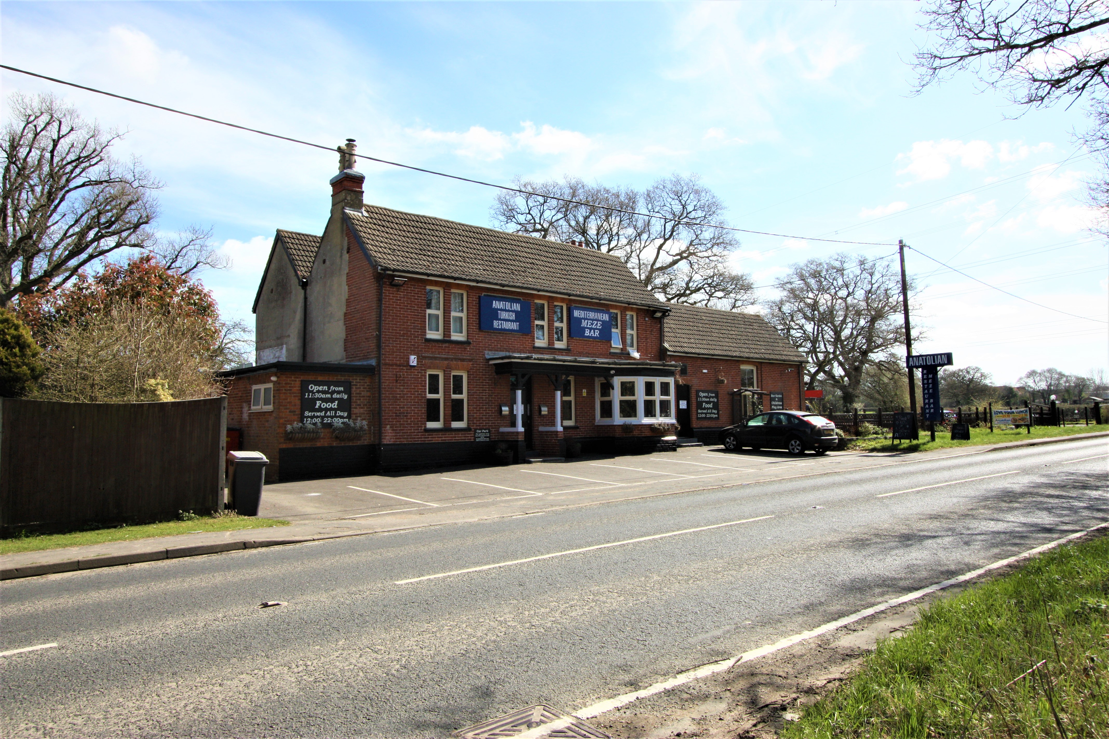 New Instruction - Restaurant Investment with Development Potential