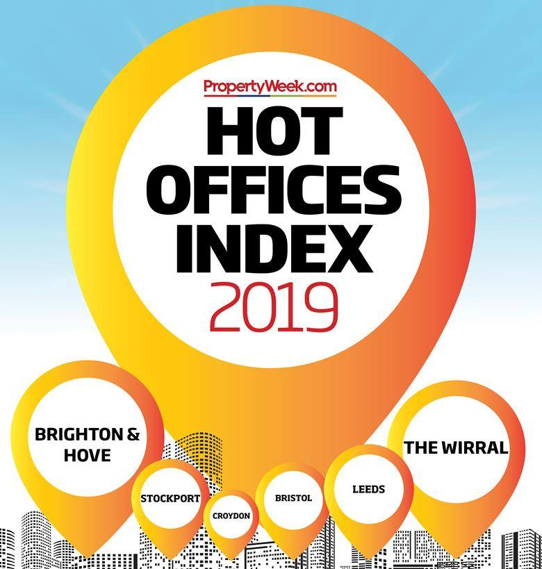 Hot Office Index - Brighton and Hove Occupy Top Spot for Third