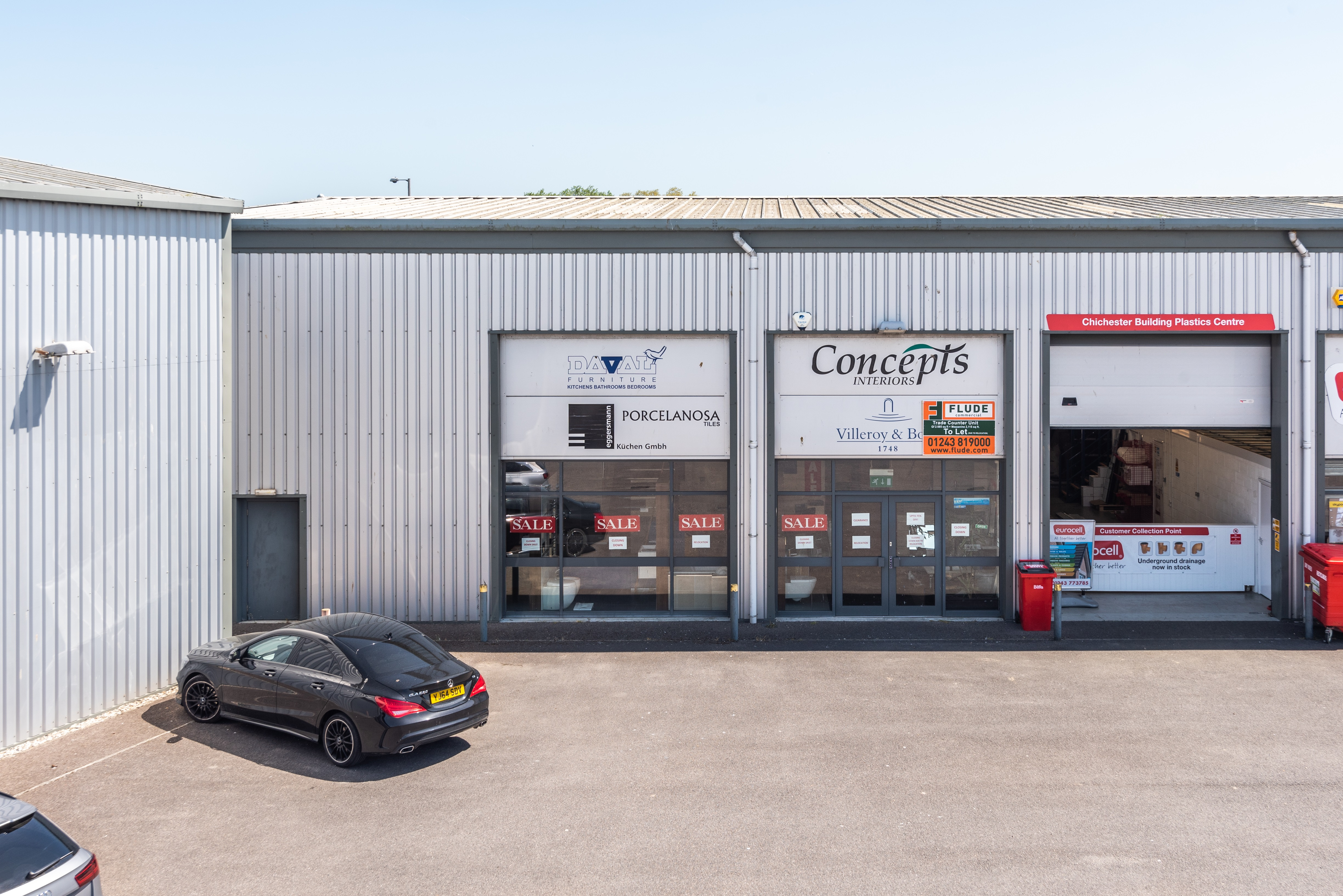 New Instruction - Industrial/Trade Counter Unit