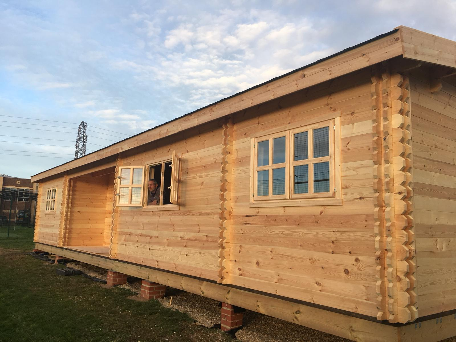 Flude Commercial Sponsor Worthing Hockey Club and Their New Club House