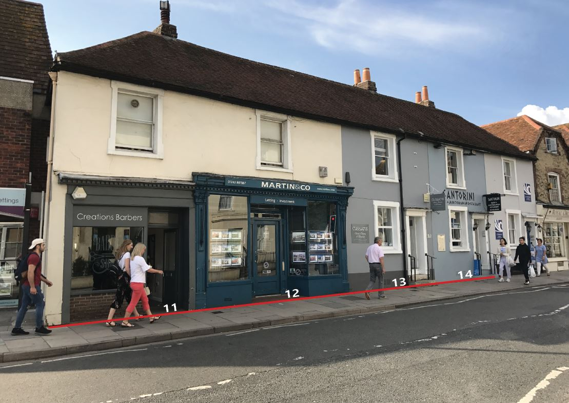 Reduced Price: Multi Let Freehold Retail Investment in Chichester For Sale