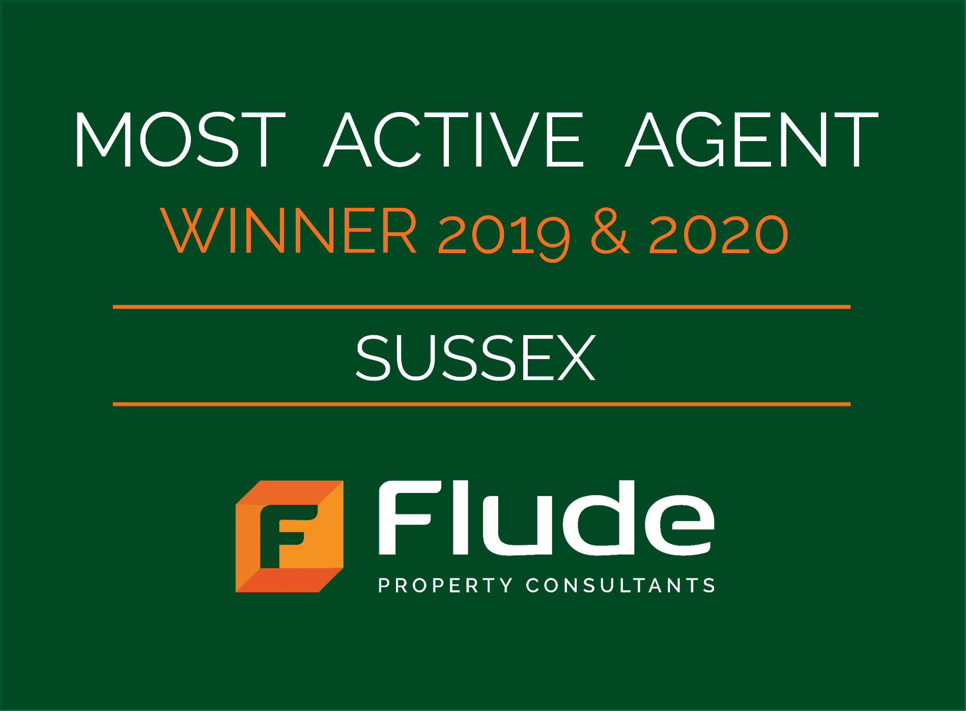 EG Deals Competition - Flude Win EG's Most Active Agent in Sussex for Second Year Running