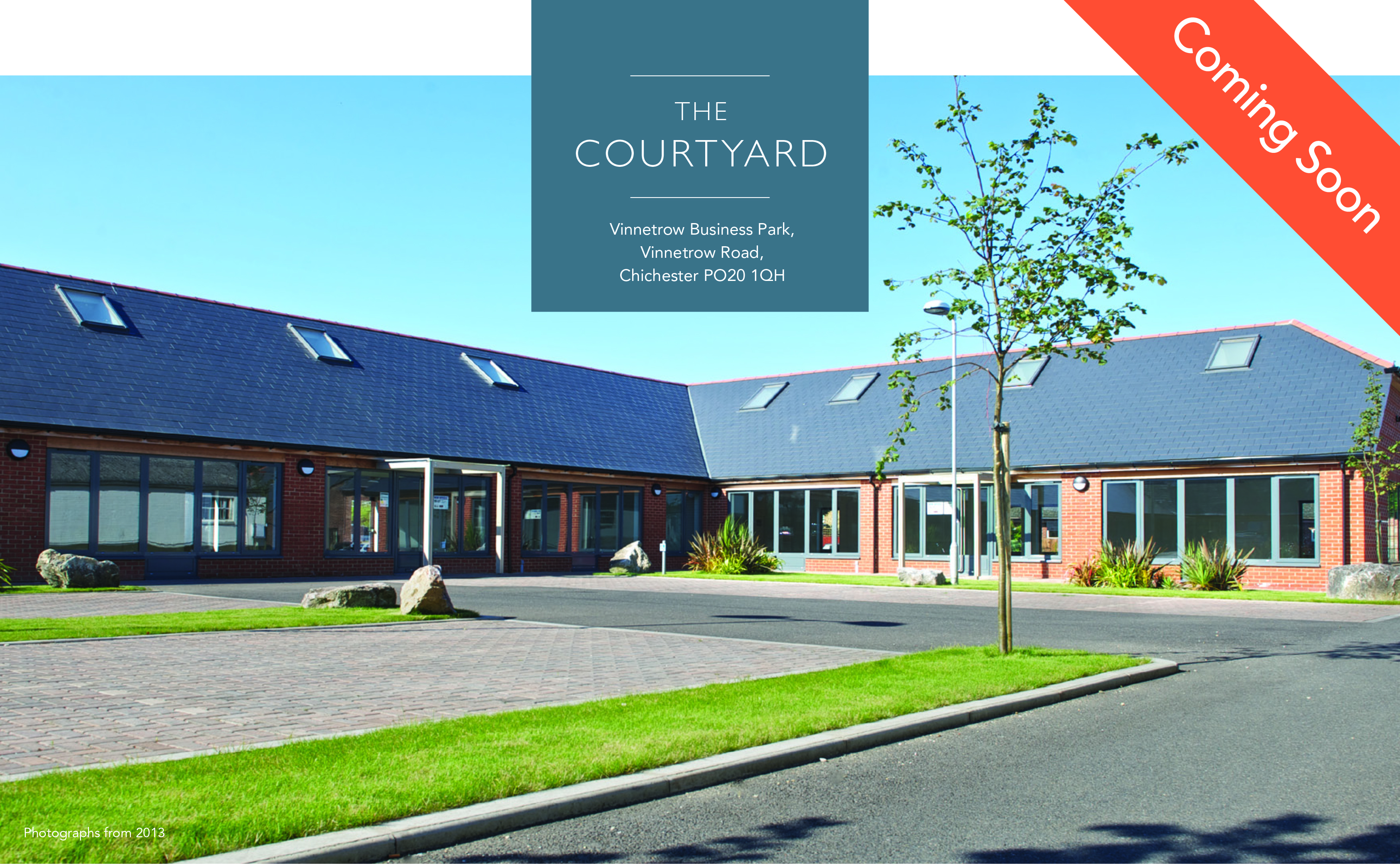 New Instruction: The Courtyard, Chichester
