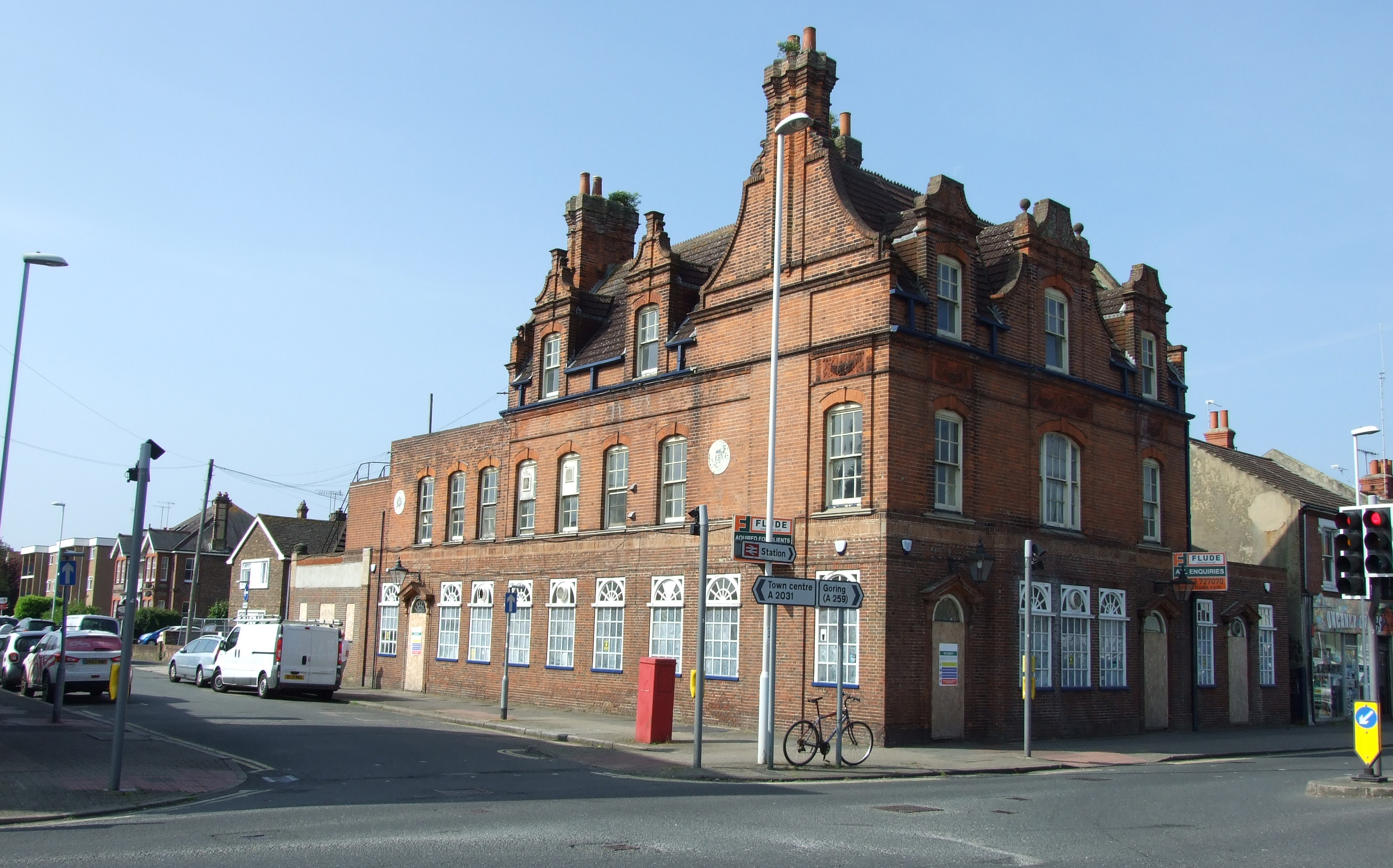 New Instruction:  Former public house in Worthing with planning consent for conversion and development for sale